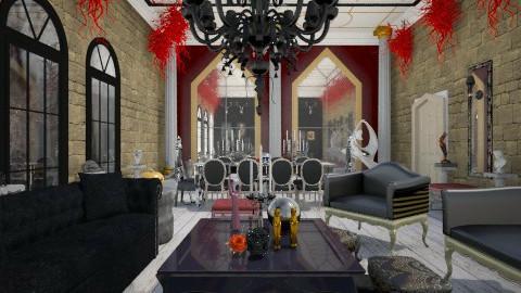 Halloween Glam - Glamour - Living room - by giulygi