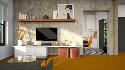Orange Carpet - by Lo89