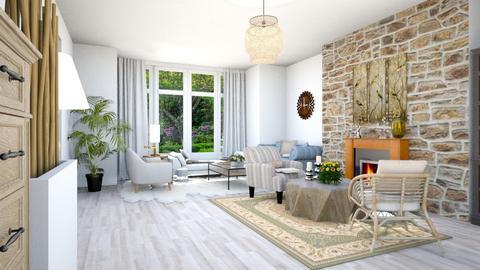 Template Baywindow Room - Living room - by Yemascus