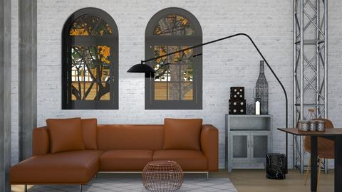 Industrial - Modern - Living room - by Jessica Fox