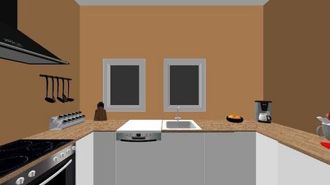 Nieuwe Keuken - Kitchen - by noorjuliavanwalree