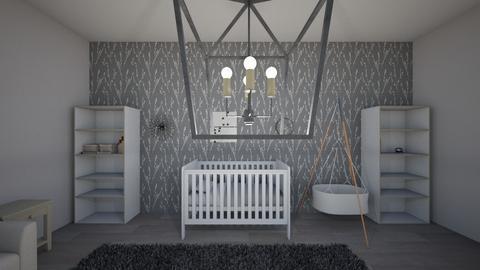 Nursery 1 - Modern - Kids room - by cbruno23