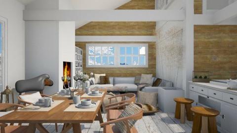 cosy mountain cabin - by Ernest Mistiaen