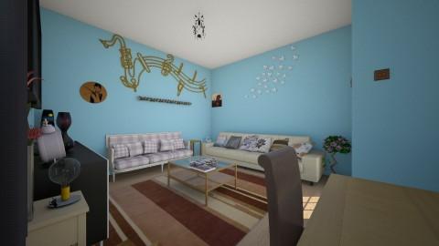 living space - Living room - by Buse Karasu