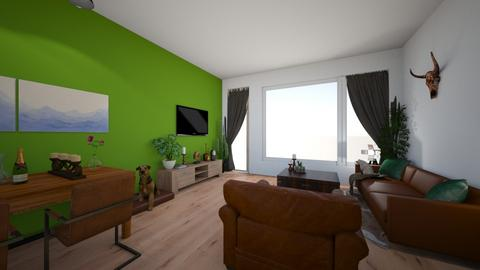 Ons eerste huis C ontwer - Living room - by missfoxyy95
