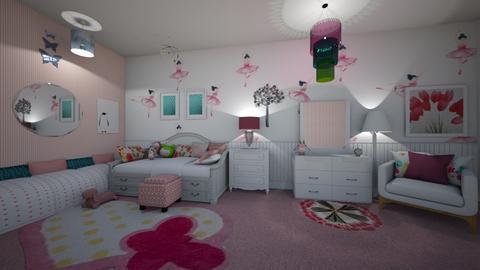 Girly room - Kids room - by ashpashly