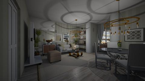 study - Living room - by joja12345678910