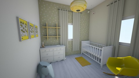 nursery - by Miriam Gamliel