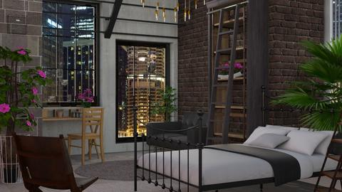 Indust - Modern - Bedroom - by Jessica Fox