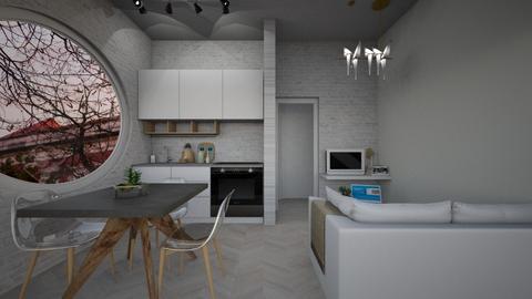 Casa325LivingandDining - Modern - Living room - by nickynunes
