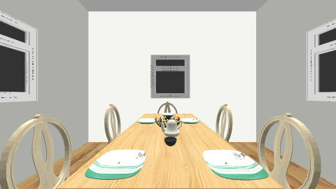 Dining in the coutry - Country - Dining room - by Abigail Carter