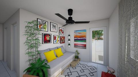 00203 realidade - Living room - by jupitervasconcelos
