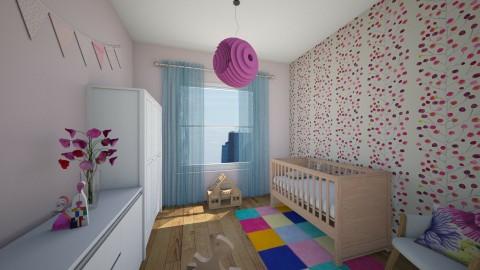 Motylek - Kids room - by Gosia1610