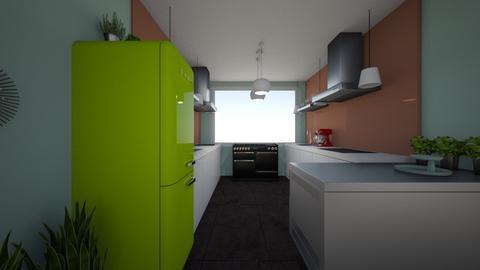 Gelijkvloers Plan B 4 - Kitchen - by pixie_16