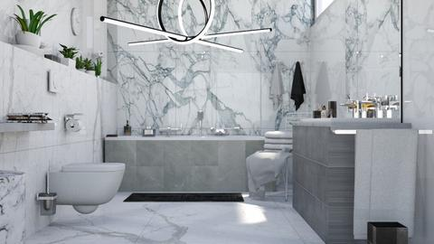 M_ Marble - Bathroom - by milyca8