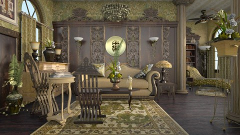 Renaissance - Vintage - Living room - by starsector