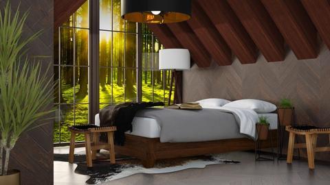 Forest Bedroom - Bedroom - by millerfam