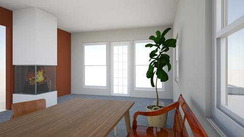 Espoo_OH - Living room - by Essi_eames