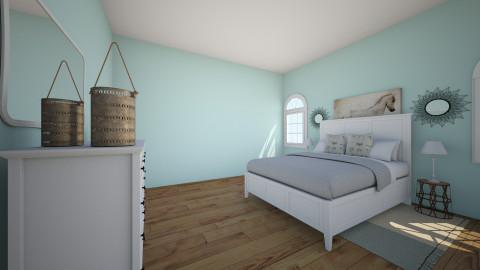 Ocean - Country - Bedroom - by Katiemichellegilbert