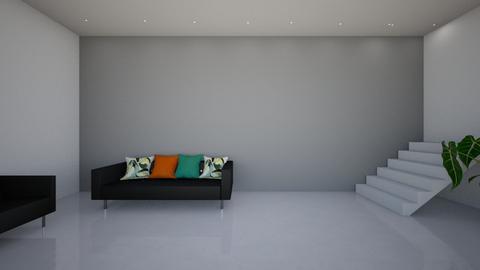 lobby  - Living room - by fu zi ya
