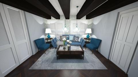 blu - Living room - by pietroooo