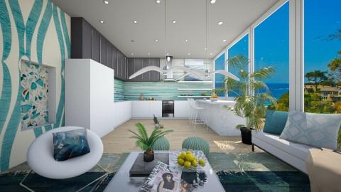 Kitchen for Denise - Modern - Kitchen - by bgref
