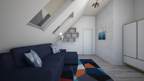 Lyoshas room - Minimal - Bedroom - by Janochka