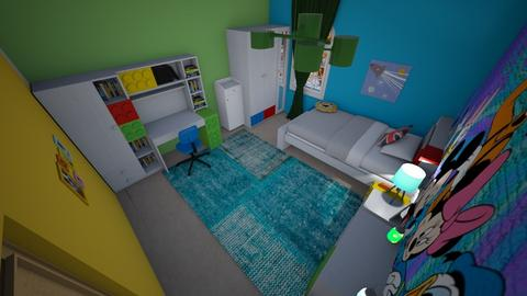 family home 119 - Modern - Kids room - by Stavroula Chatzina