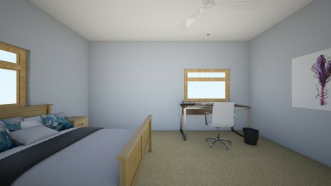 Bedroom Design with extra - Modern - Bedroom - by kmcguire