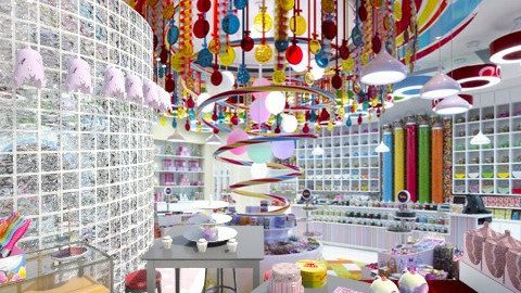 Candy Factory - by Ulie