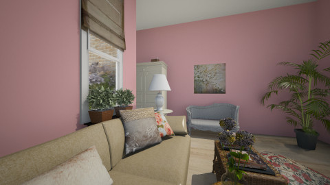 English Rose - Country - Living room - by sissybee