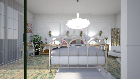 orquidea - Bedroom - by ana111