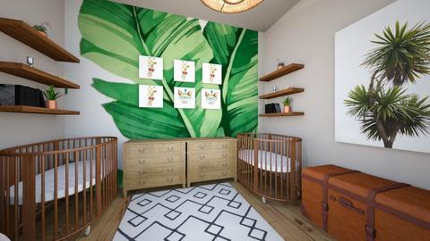 twin girl baby room - Kids room - by Emmaxgo