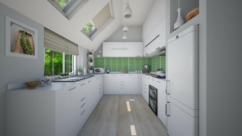 Muguet de mai - Kitchen - by Violetta V