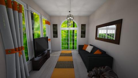 Beavers Football Room - Living room - by millerfam