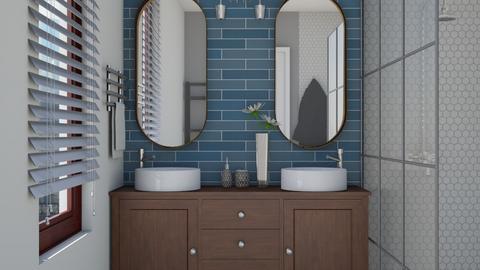 50s - Retro - Bathroom - by bibi_pat