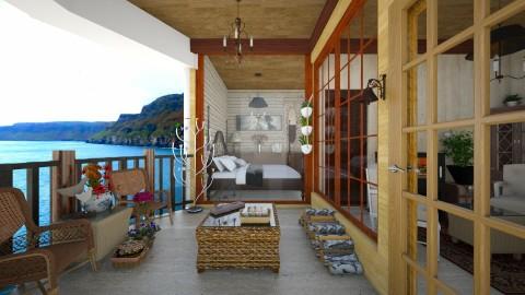 balcony  - Garden - by Colomba Wimble