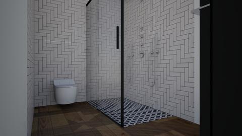 Upstairs Bathroom - Bathroom - by tiffngrace729