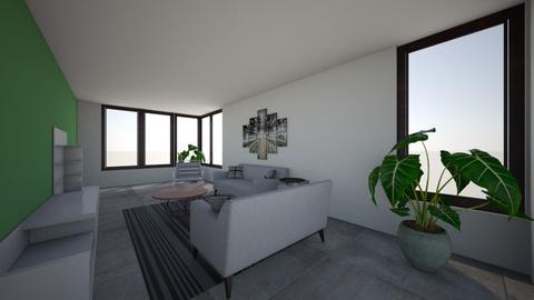 aanbouw  - Living room - by lottezegers