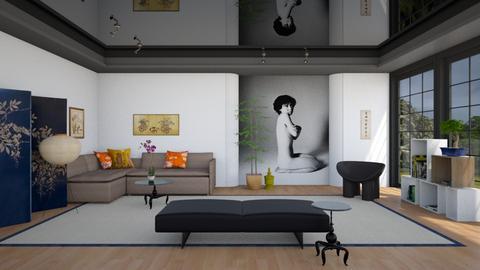 A Room with Araki - Modern - Living room - by 3rdfloor