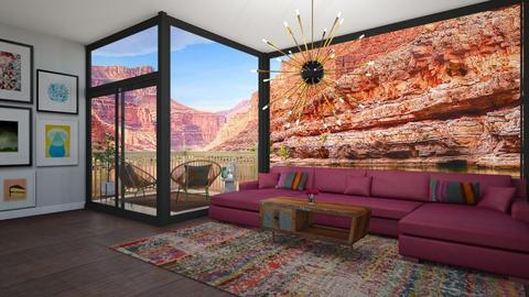 canyon vibes - Living room - by decor_44