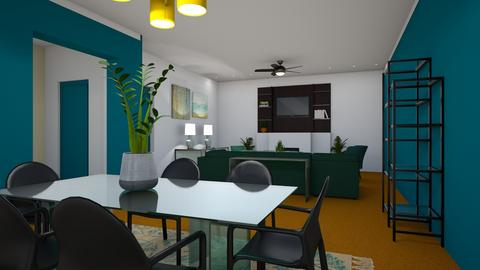 Orange Carpet trial 2 - Eclectic - by brentblues