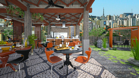 Cafe Pabellon - Global - Garden - by starsector