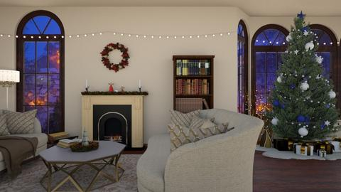 christmas living room - Living room - by elhamsal24