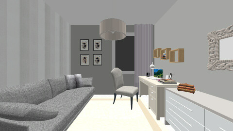 Rzeszow1 - Bedroom - by Wysmolinska