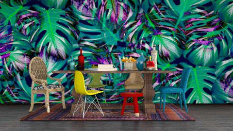 Tropic dining REMAKE - Dining room - by meggle