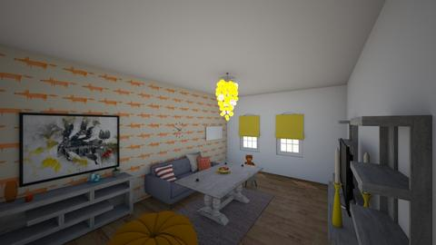 Orange juice - Retro - Living room - by 06966147