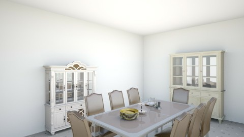 HOUSE 1 - Vintage - Dining room - by 12lwilson
