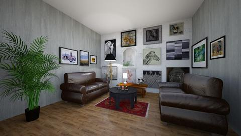 Eclectic Living - Living room - by Marrlinde
