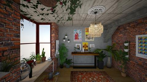 Plant Room - Garden - by Alexandra Ritchey